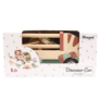 Kép 2/3 - Fa dinó szállító autó dinókkal - Magni