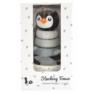 Kép 3/4 - Pingvines toronyépítő játék fából - Magni