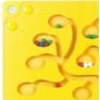 Kép 4/4 - BE 23635 Fali labirintus-számoló, fa