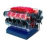 Kép 4/4 - V8 Motor játékmodell - BUKI