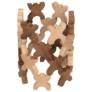 Kép 2/4 - X-Shaped Men figurás építő fából - Goki