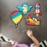 Kép 2/5 - Fat Brain Toys: Jixelz - Kreatív fejlesztő kirakó (1500 db-os készlet)