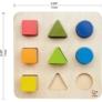 Kép 2/5 - HP E0426A Hape Geometriai Testek kirakója