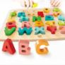 Kép 2/2 - ABC Formaillesztő Puzzle  - Hape