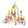 Kép 1/3 - Kidiwood Fa építő játék 100 darabos - Jamara