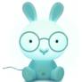 Kép 1/8 - Bunny - Az éjjeli nyuszilámpa (kék)